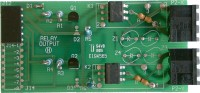 Dual solid state relay board for Laureate digital panel meters and counters