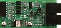 RS485 serial communications board for Laurel meters, counters and timers.